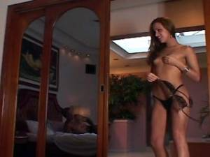 Horny guy and dirty tranny suck cock and fuck